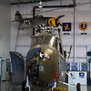 "Sikorsky ""Chickasaw"" and Sweeney ""War Thunderbolt"" (3/4 replica) hanging up"