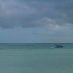 Stormy beach, Bali