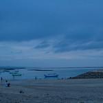 Evening on Bali beach