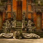 Temples at Monkey Forest, Bali