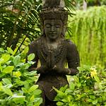Statue in Bali Gardens