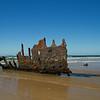 Dicky shipwreck, Dicky beach Australia