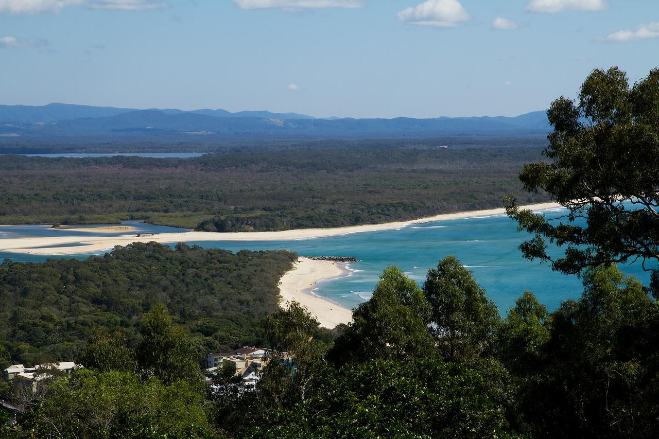 Noosa, view from Laguna Lookout, Noosa National Park, Australia