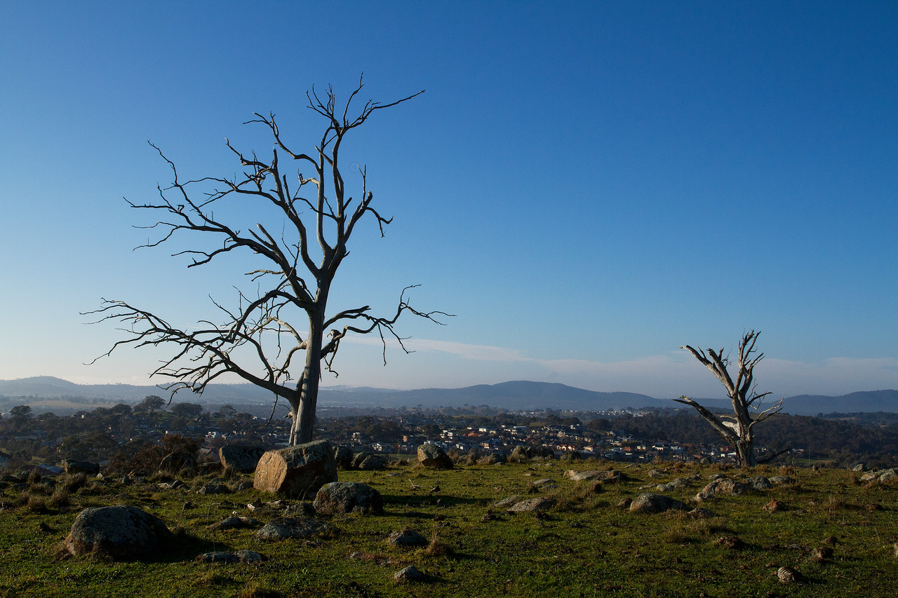 View from Percival Hill Reserve, Nicholls Canberra