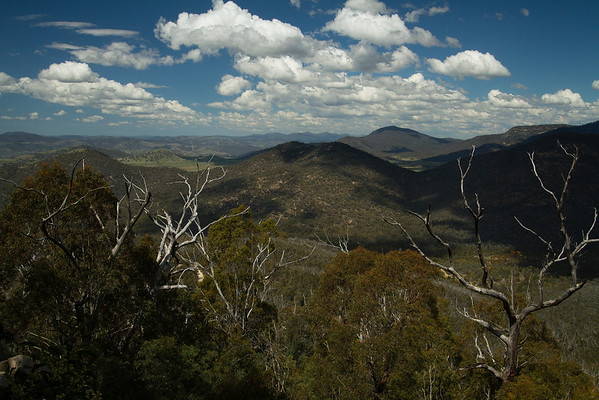 View from Gibraltar Peak, Tidbinbilla Canberra