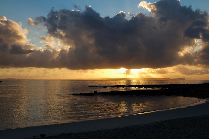 Sunrise over Husky (Huskisson) Jervis Bay Australia