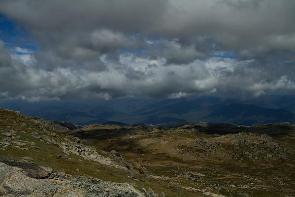 View from Mount Kosciuszko, Australia