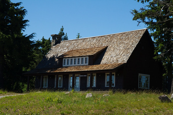 Community House at Crater Lake, Oregon