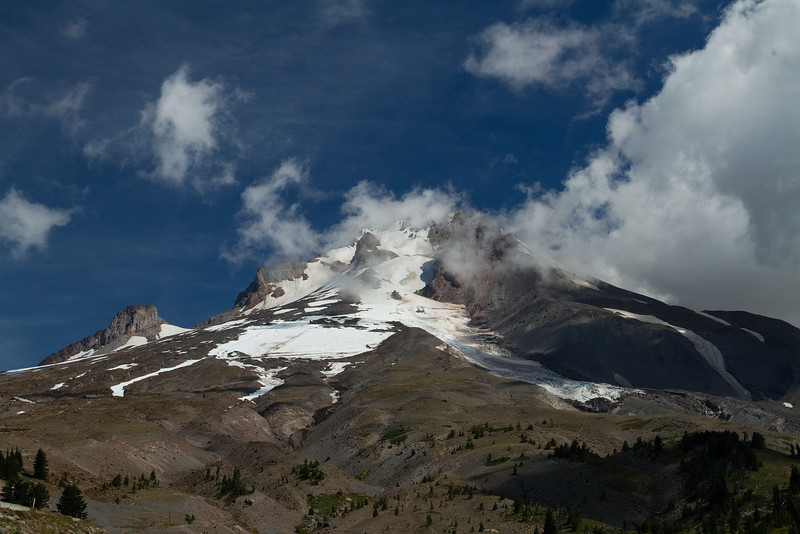 Mount Hood in the Summer, Oregon