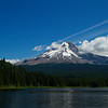 Trillium Lake with Mount Hood in the background, Oregon