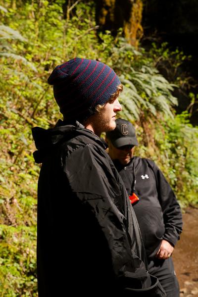 Hayden and Shaun at Silver Falls
