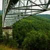 Bridge to Mount St Helens, Washington