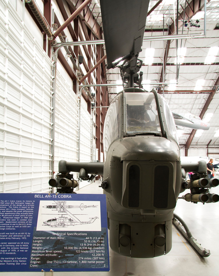 Bell AH-1S Cobra Helicopter