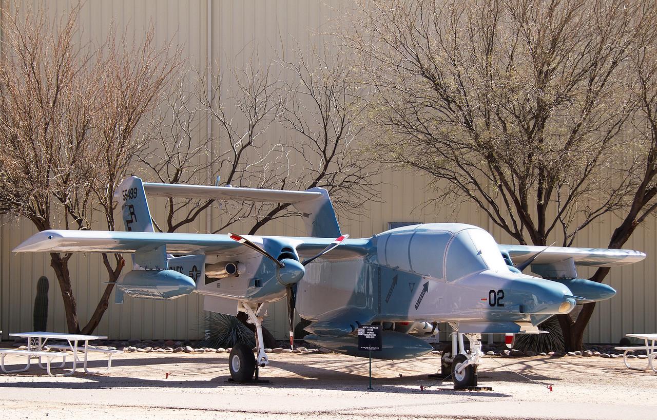 North American Rockwell OV-10D Bronco